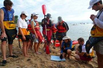 Treasure hunt ajaccio sea-kayaking