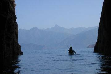 "Sea-kayaking corsica trip for 1 week ""the rocky inlets of the beauty island"""
