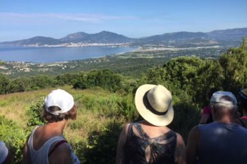 1/2 day guided hike up above porticcio and ajaccio