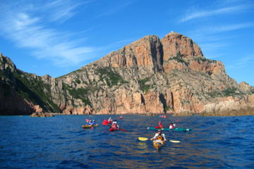 "Sea-kayaking 1 week trip ""the rocky inlets of the beauty island"""