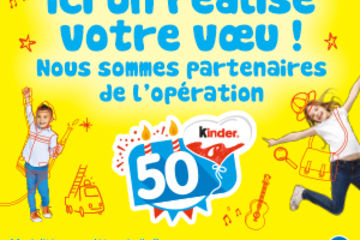 Kinder 50 years anniversary