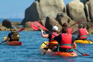 Sortie encadrée kayak de mer sur mesure