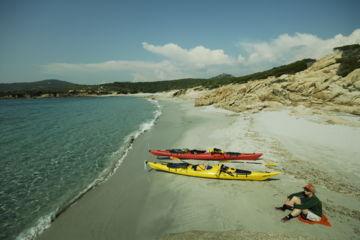 Location de kayak de mer de randonnée pour plusieurs jours, semaine, mois