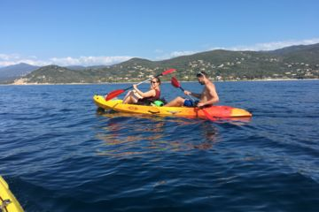 Sea-kayak rental, hourly, 1/2 day or full-day