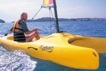 Location mini catamaran ajaccio - funboat