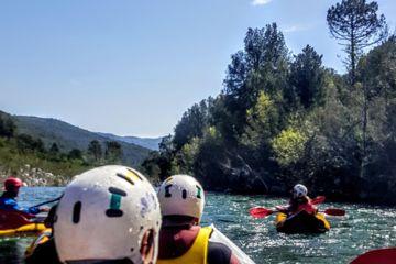 Rafting en corse - descente du tavignano vers corte