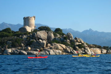 "Multi-activities 1 week family trip ""acqua corsica"" : sea-kayaking, hiking and canyoning"