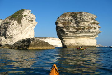 Kayak de mer corse - organisation de séjour sur mesure
