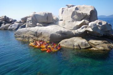 """Sea-kayaking 1/2 day tour """"isolella peninsula"""""""