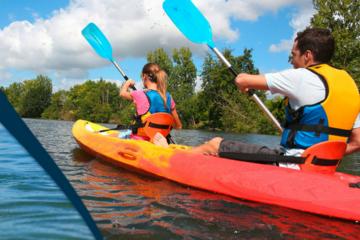 Location kayak de mer à solenzara
