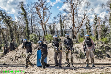 Paintball volwassenen promo maart - april  -20%