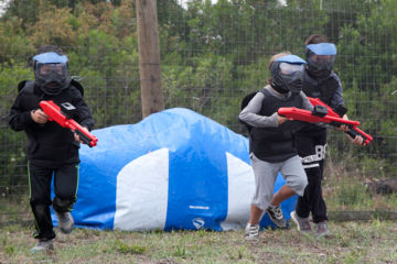 Paintball kinderen promo maart-april  -15%