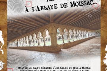 Murder party à l'abbaye de moissac