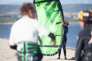 Initiation kitesurf