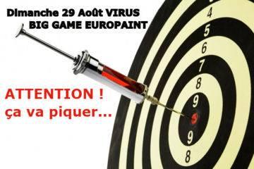 Dimanche 29 août big game  virus
