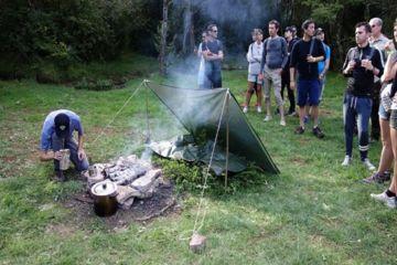 Survie et bushcraft trip