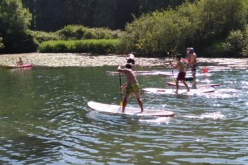 Descente de la charente en paddle