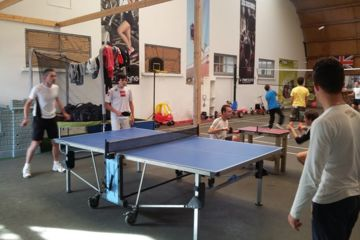 Tennis de table la roche sur yon