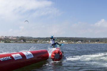 Kite boarder cross tour