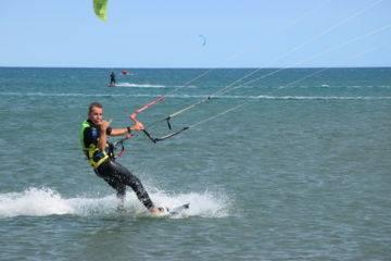 Sécurité zone kitesurf