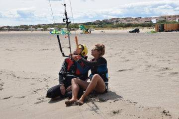 Stage kite'n'wake vacances d'avril