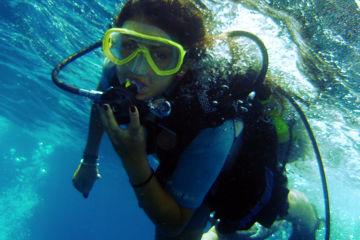 Plongée d'exploration débutant