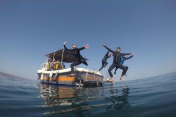 Short discover of diving or snorkeling in sainte-maxime
