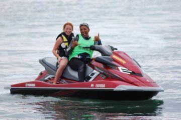 Baptême de jet ski enfant