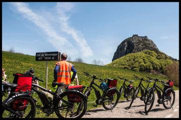 Le château de montségur en vélo électrique