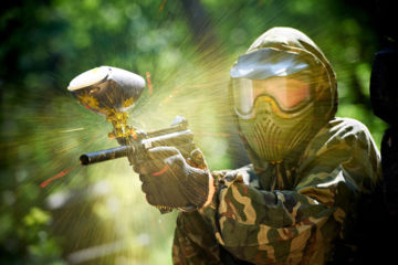 Paintball -anniversaire