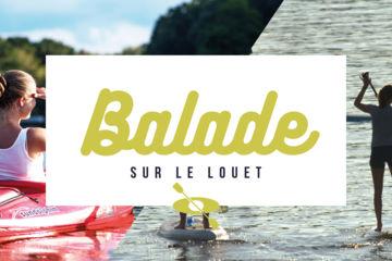 Balade en canoë - kayak - paddle sur le louet