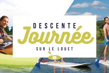 Descente journée en canoë - kayak - paddle sur le louet