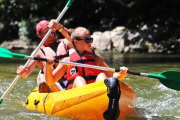 Location sur la voie bleue | canoë - kayak - paddle