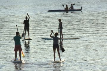 Cours de stand up paddle près de châteauroux