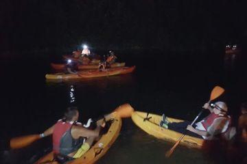 Balade accompagnée nocturne en canoë à issoudun