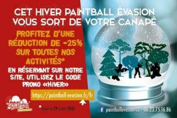 "Offres d'hiver incroyables - 25% du 1er decembe au 29 fevrier 2020 en utilisant le code promo ""hiver"""