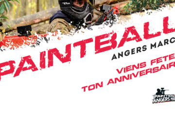 Paintball anniversaire angers marcé