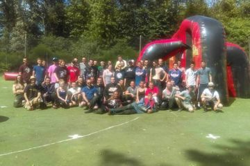 Paintball teambuilding entreprise angers