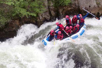 Rafting deportivo : gorges de la pierre lys