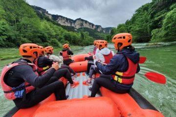Rafting découverte gorges du tarn