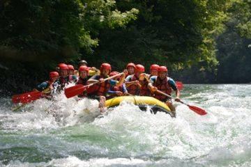 Descente raft