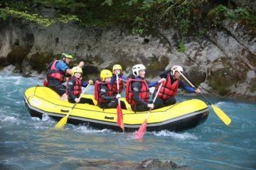 Descente en rafting vers samoëns - la classique (7km)
