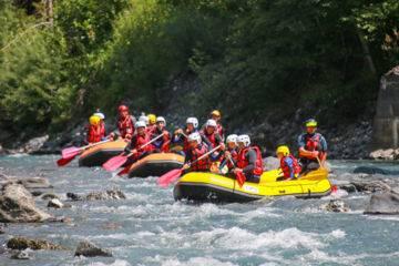 Descente rafting vers verchaix -  l'intégrale (11km)