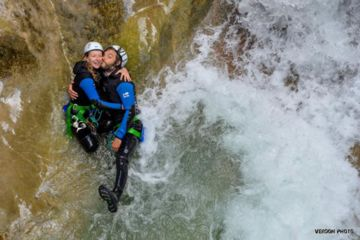 Sporty half day canyoning | saint auban