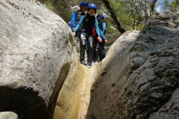 Canyoning familles