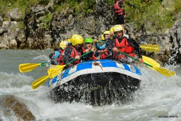 Rafting demi-journée sportive | le point sublime