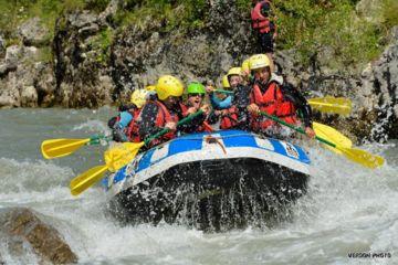 Half day sporty rafting trip