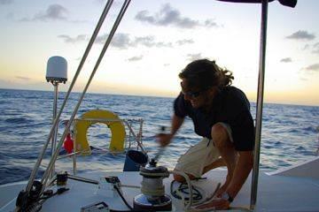 Cours de navigation sur voilier monocoque habitable