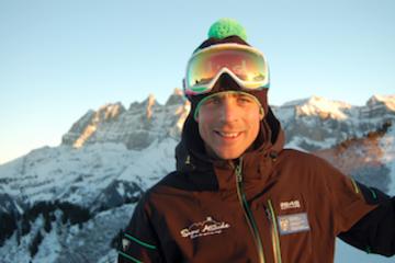 Olivier lips - snowboard - châtel - portes du soleil - haute savoie - france