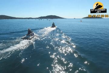 Rando jet ski - baie de st cyprien - 20 mn